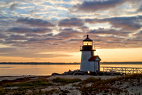 Autumn Sunrise, Brant Lighthouse - Nantucket